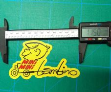 Italjet Mini Mini Bambino indian Vintage sticker mm5A scrambler minibike indian